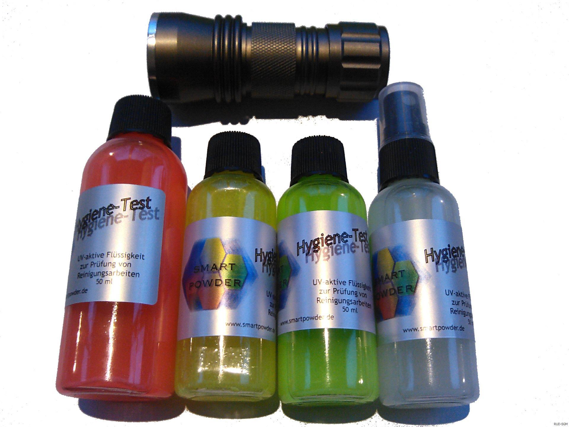 rud sgm realistische unfalldarstellung und special effects smartpowder hygiene test